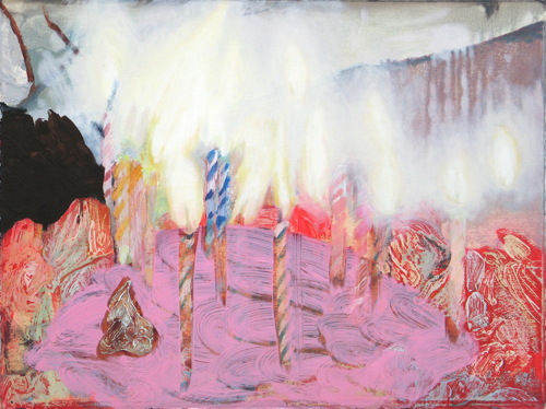 Trick Candles, 2008 by Clare Grill